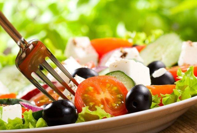Средиземноморская диета примерное меню